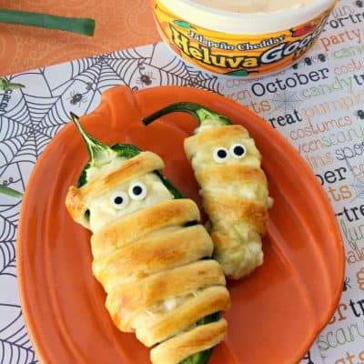Halloween Mummy Jalapeno Poppers In Oven Recipe!
