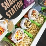 DIY Fall Popcorn Bar For Thanksgiving Or Halloween!