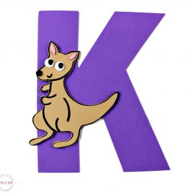 Letter of the Week Letter Craft! K is for Kangaroo