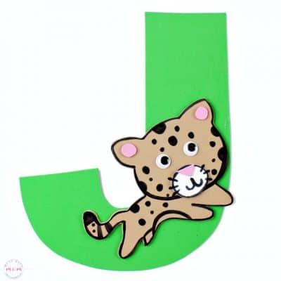 Letter of the Week Letter Craft! J is for Jaguar