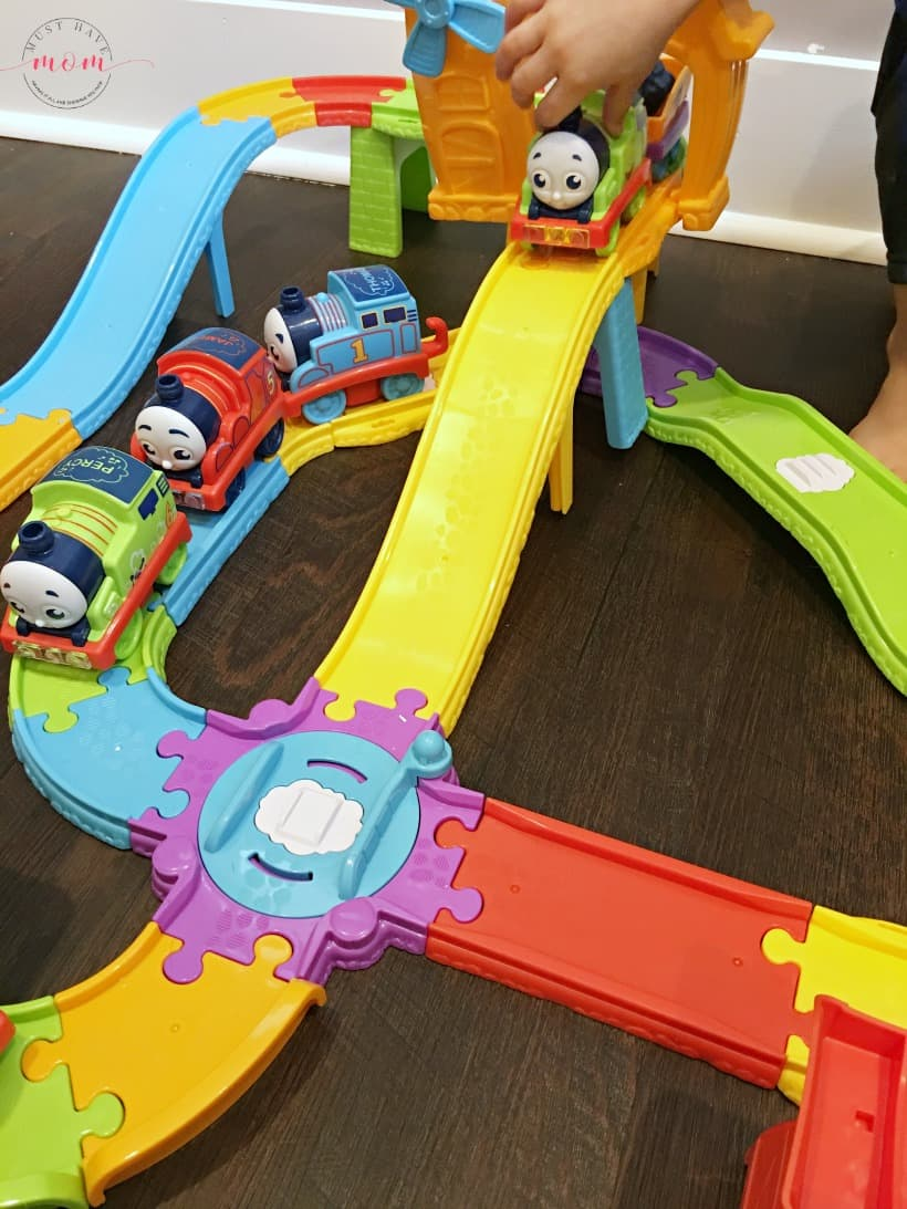 Thomas & Friends My First Railway Pals train set for toddlers. Great toddler Christmas gift idea.
