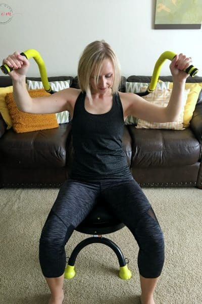 Workout to get your pre-baby body back! AbDoer exercises and new moms exercise ideas.
