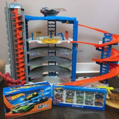 HOT Toy Alert: Hot Wheels Super Ultimate Parking Garage Holiday Gift Guide TOP Pick!