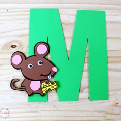 Weekly Letter Craft! M is for Mouse