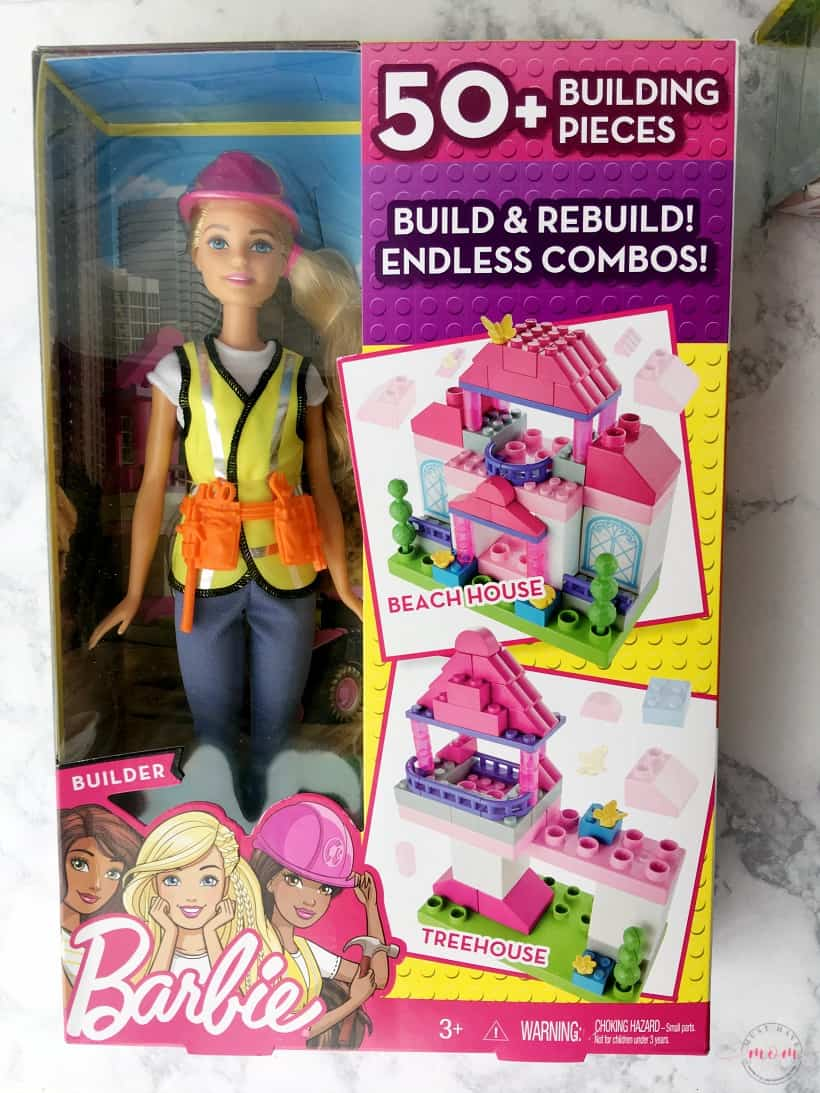 Holiday gift ideas for girls 6-10. Career barbie is a great way to inspire girls.