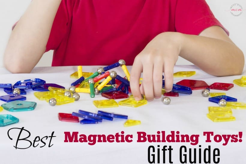 Best magnetic building toys for kids gift guide! Great magnets toy ideas for educational toys.