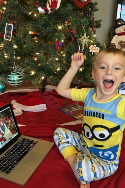 Portable North Pole Santa Videos! See if your child made the naughty or nice list this year.