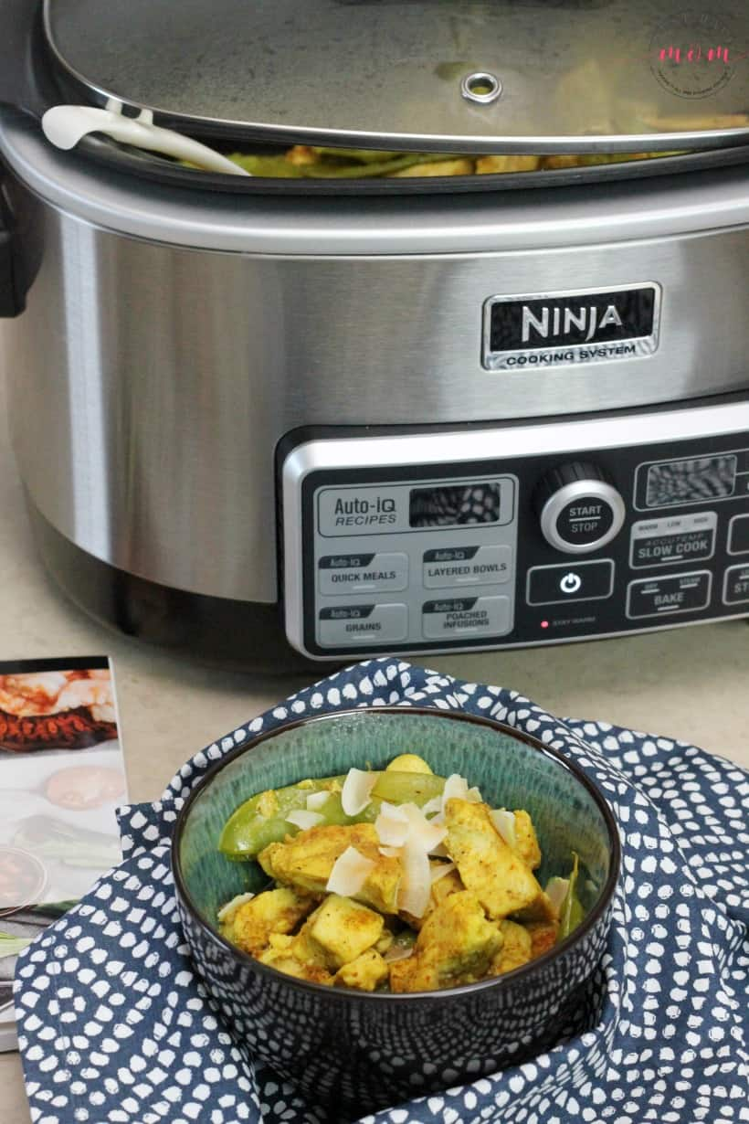 Easy coconut chicken curry dinner recipe ninja cooking system with coconut chicken curry easy dinner recipe ninja cooking system recipes forumfinder Images