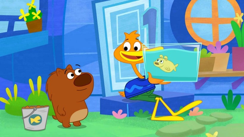 P. King Duckling is streaming on Netflix now! Plus Target gift card giveaway!