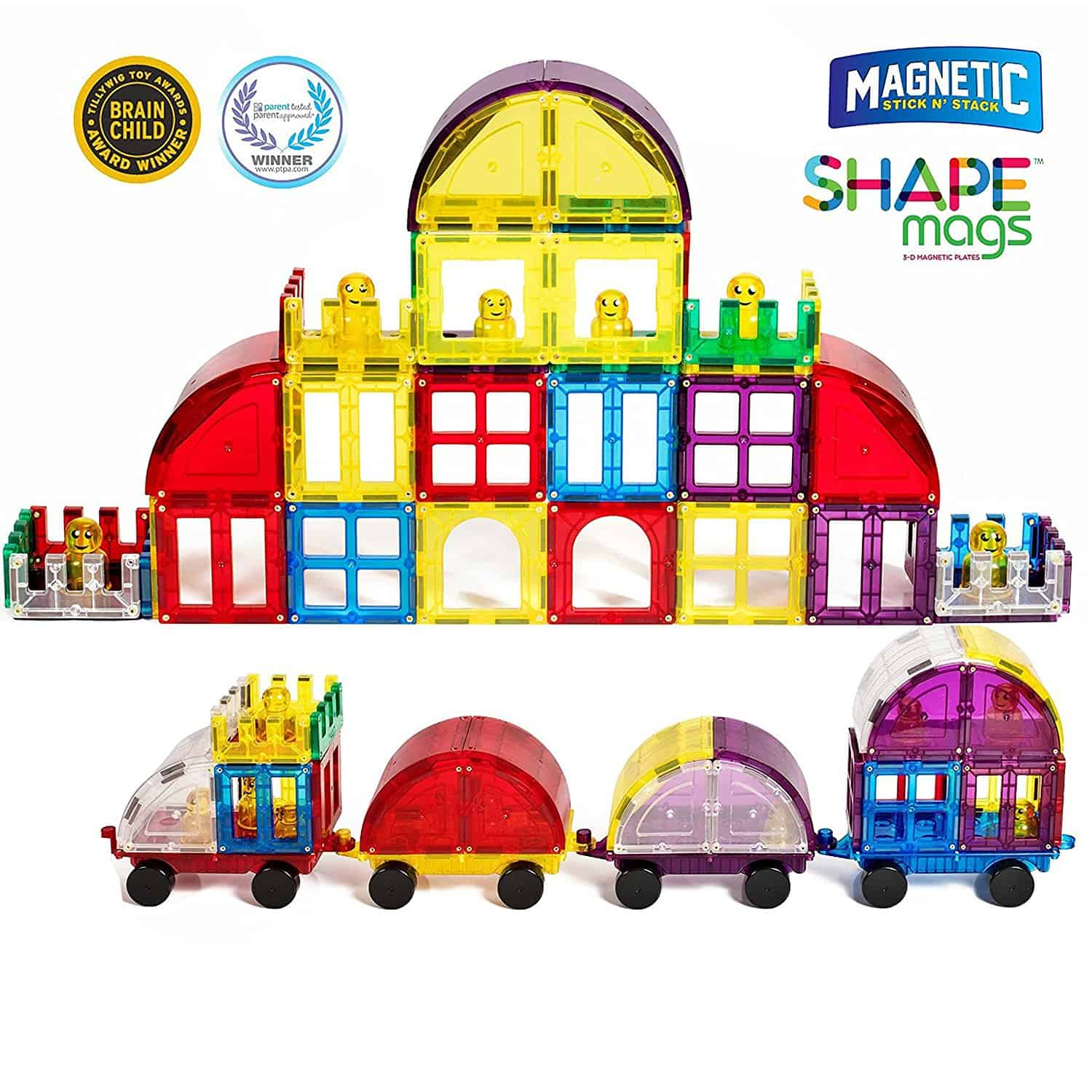 Shape Mags Magnets toy review