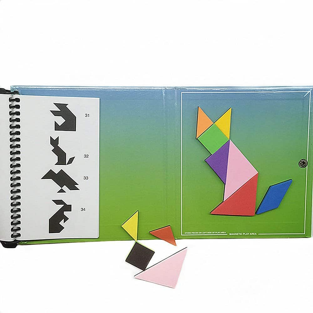 magnetic tangram puzzle