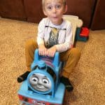 Thomas the Train Up & Down Roller Coaster Ride-On Gift Idea!