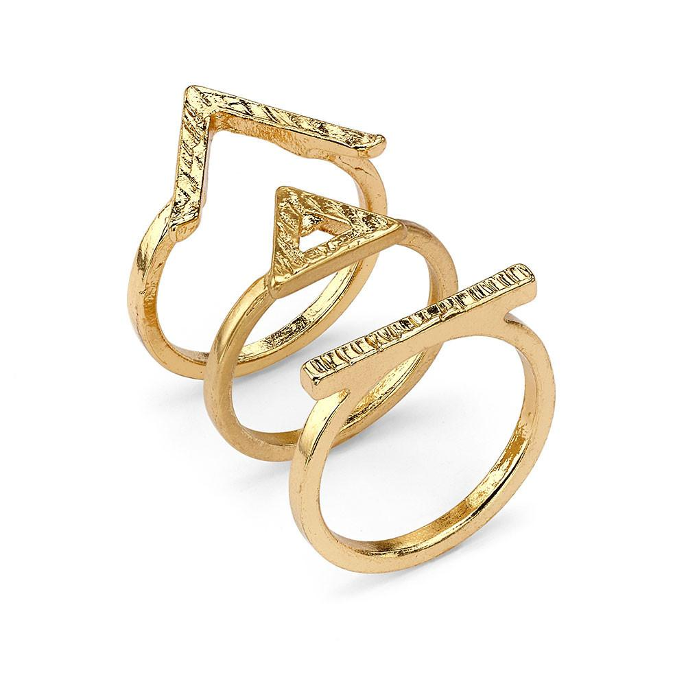 Egyptian Angles Rings