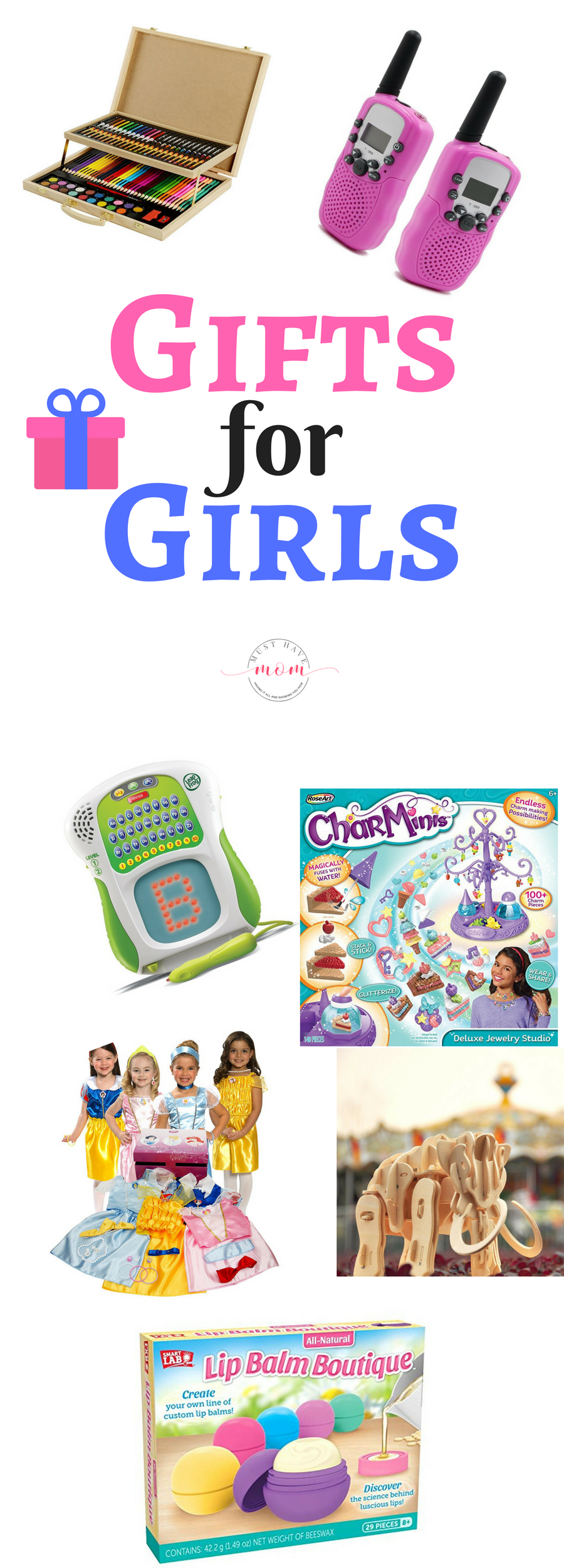 If you have are still scrambling to find some gifts for girls that are sure to please, I'm here to help. Check out this gift for girls guide.