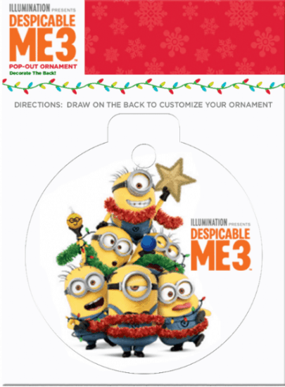 DESPICABLE ME 3 Christmas Printables