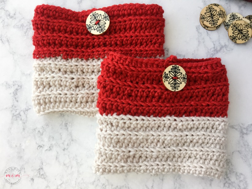 Easy Reversible Crochet Boot Cuffs Free Pattern Must Have Mom