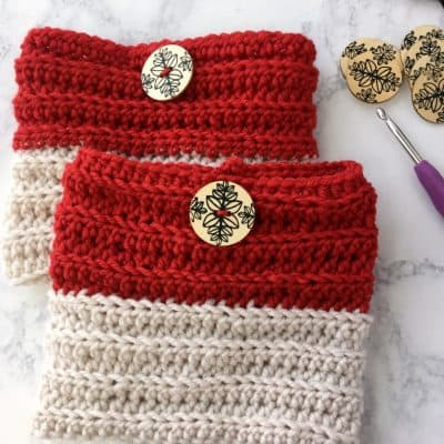 Easy Reversible Crochet Boot Cuffs Free Pattern