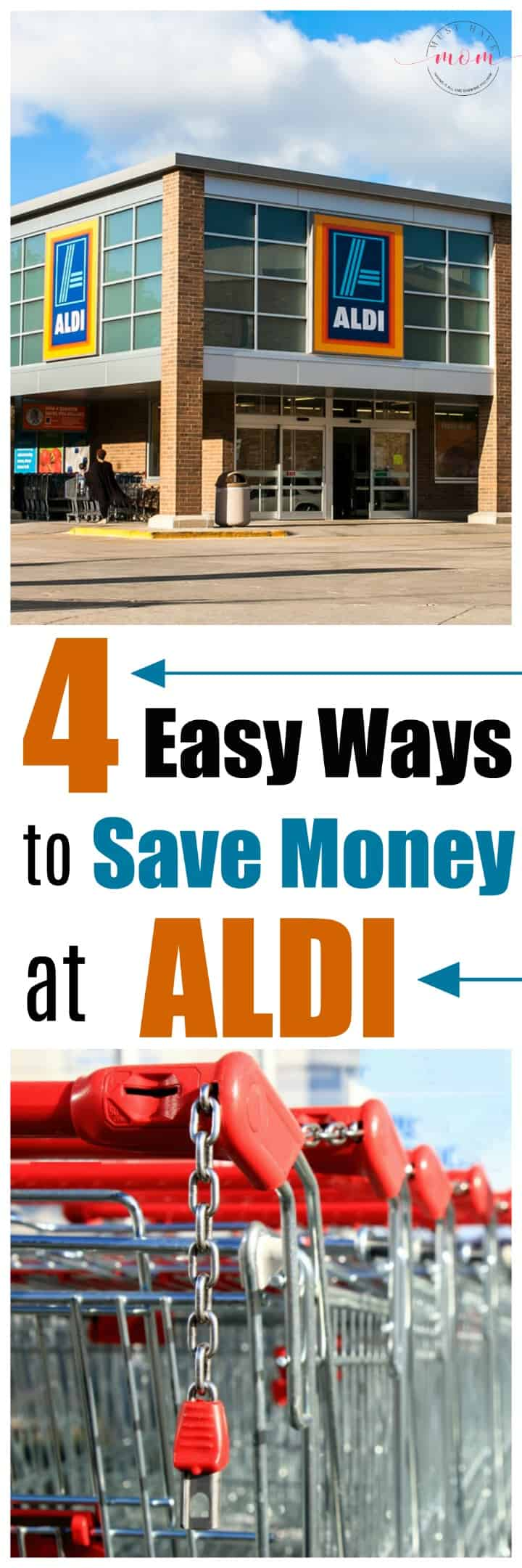 4 easy ways to save money at ALDI! Have you tried these money savings tips??