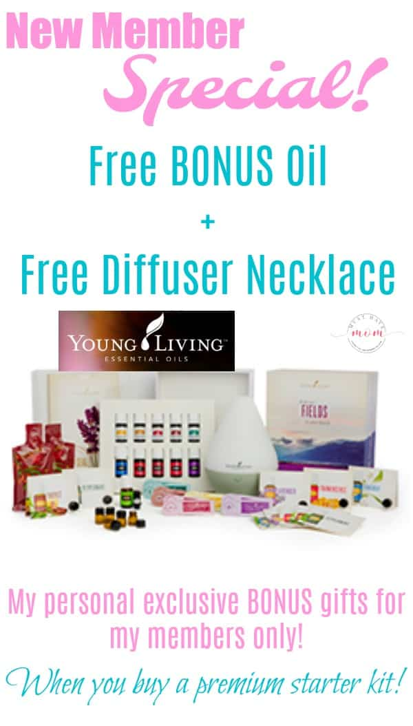 Earn these FREE bonus gifts with Young Living premium starter kit purchase. These are in addition to the great value you get from the kit!