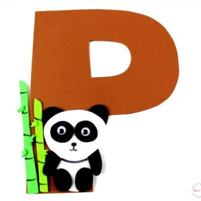 Weekly Letter Craft! P is for Panda