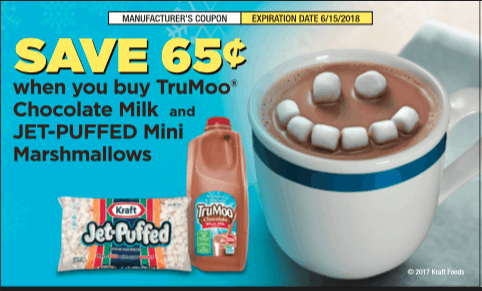 TruMoo and Jet-Puffed marshmallows coupon