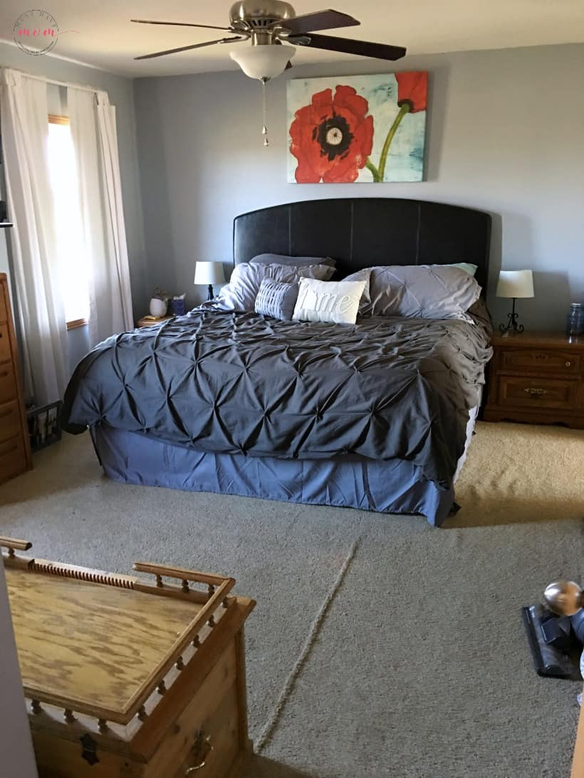 fixer upper master bedroom