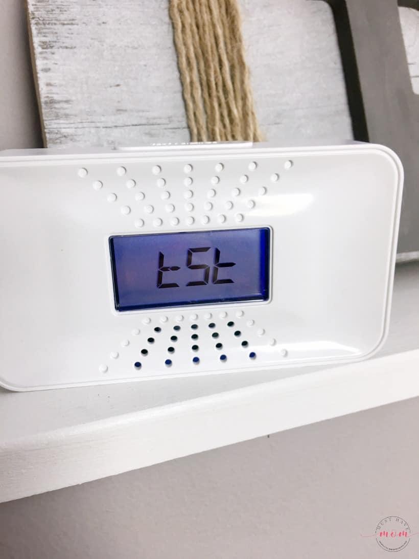 first alert carbon monoxide alarm test