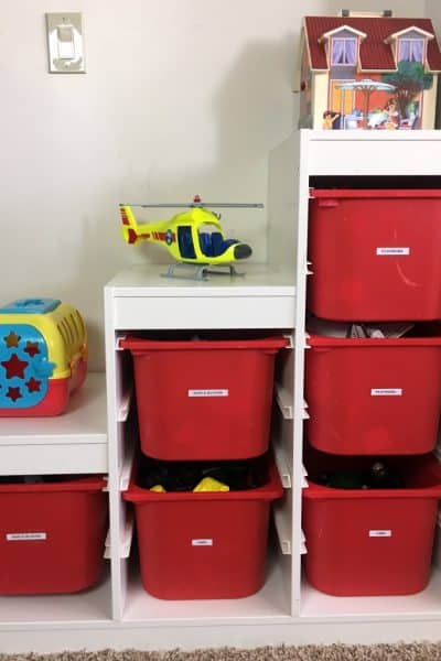 Easy Playroom Organizing Ideas + Tips To Manage The Clutter!