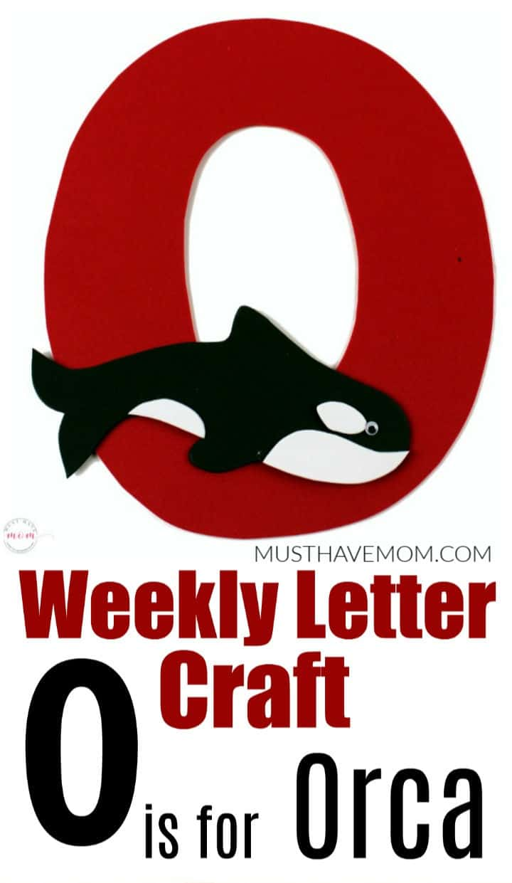 O is for Orca craft
