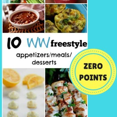 10 Zero Points Weight Watchers Freestyle Recipes! Appetizers, Meals & Desserts!
