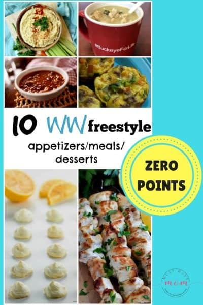 10 weight watchers freestyle zero points recipes. Appetizers, meals and desserts zero freestyle points.