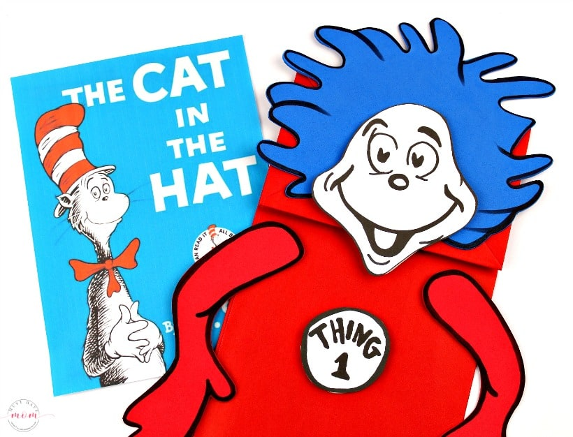 photo about Dr Seuss Printable Hat identified as Factor 1 Factor 2 Puppets! Dr Seuss Crafts + Totally free Printable