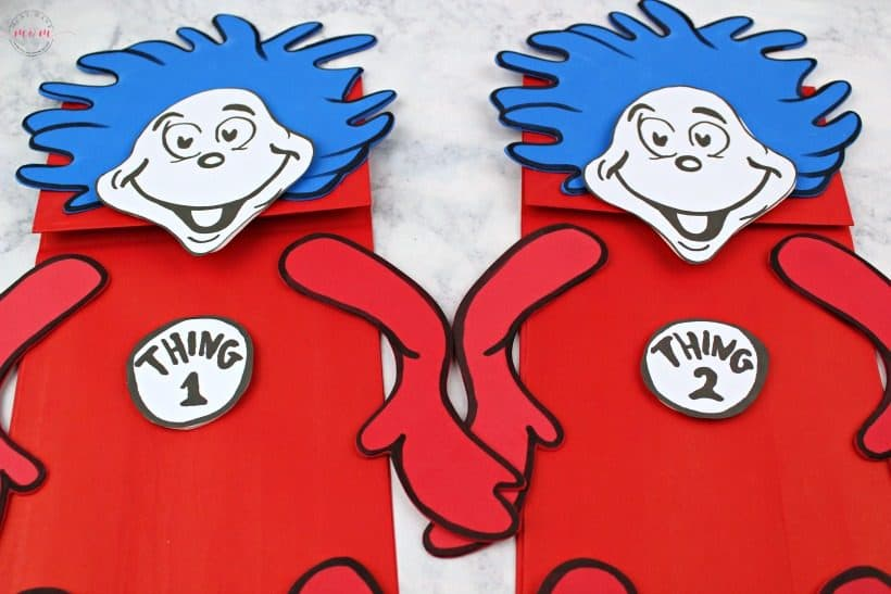 It's just a picture of Handy Thing 1 and Thing 2 Printable Cutouts