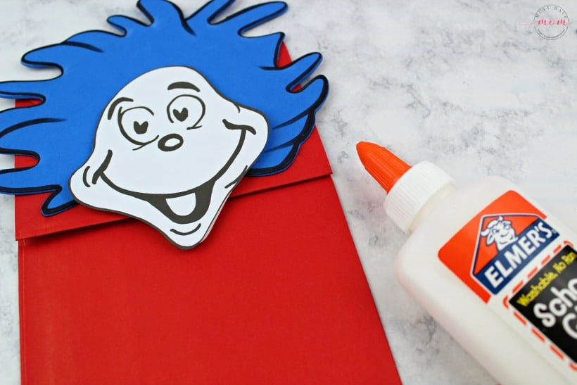 image relating to Thing 1 and Thing 2 Printable referred to as Matter 1 Point 2 Puppets! Dr Seuss Crafts + Cost-free Printable