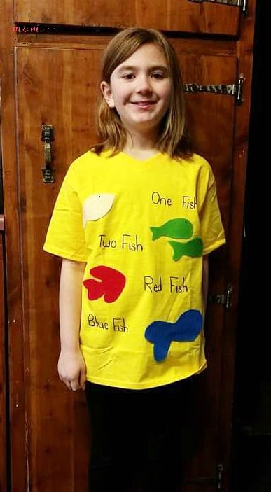 One Fish Two Fish Costume Must Have Mom