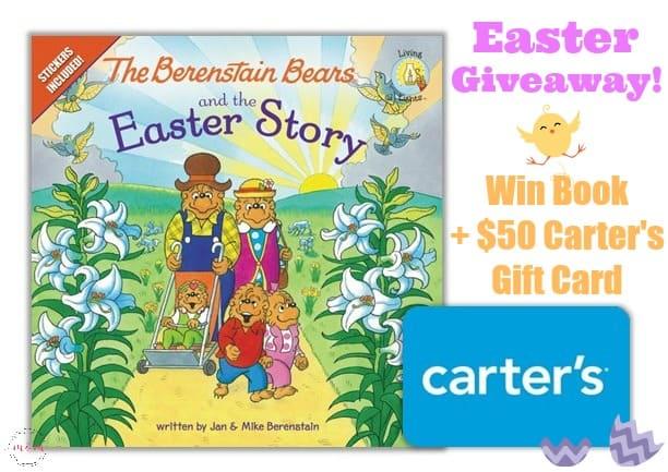 Berenstain Bears Easter story book plus giveaway!