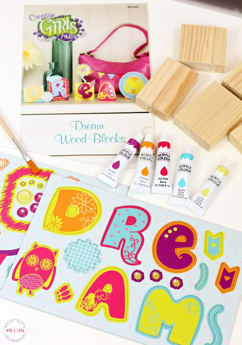 Creative Girls Club Dream Block Kit Contents