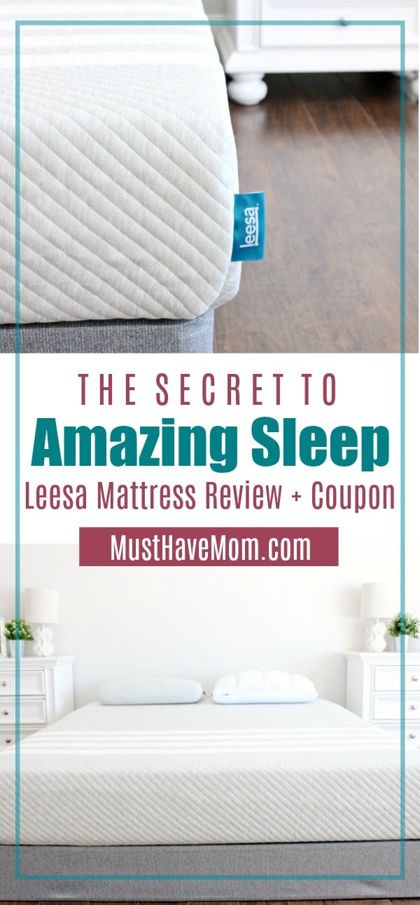 7 reasons to buy a Leesa mattress + Lessa Mattress reviews & coupon!