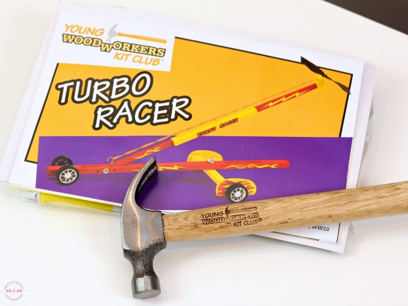 Young Woodworkers Kit Club Turbo Racer Set