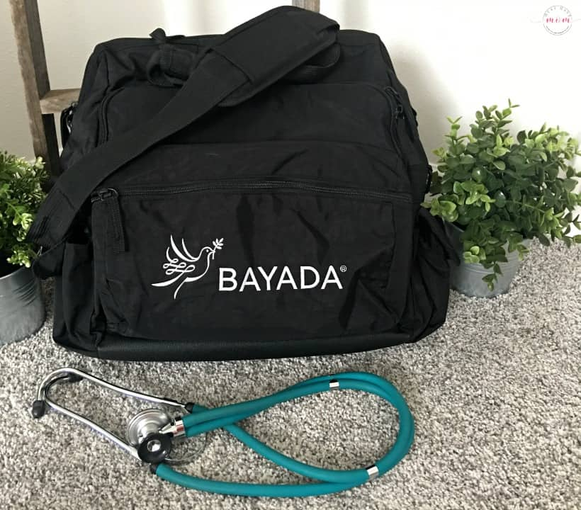 BAYADA custom nurses bag