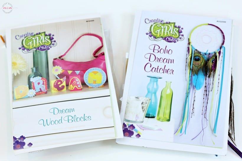 Creative girls club project kits