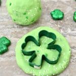 St. Patrick's Day Green Jello Playdough Recipe