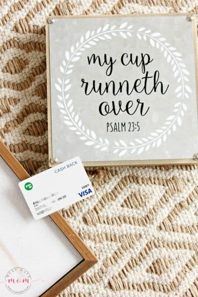green dot card to buy farmhouse style signs