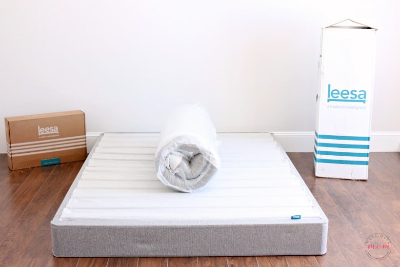 Leesa mattress unboxing