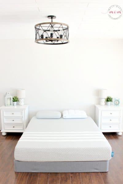 leesa mattress bedroom photo