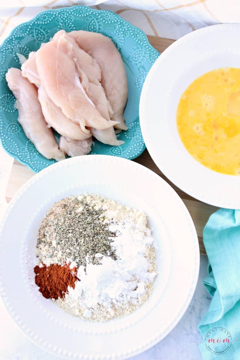 how to make gluten free paleo chicken strips recipe