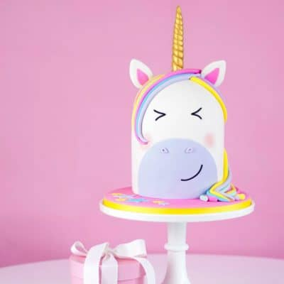 How To Make A Rainbow Unicorn Cake