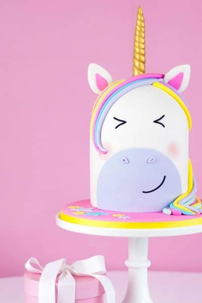 Unicorn anything is all the rage! They are magical, brightly colored, and oh so fun. This Rainbow Unicorn Cake is amazing.
