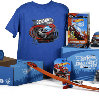 Summer Fun for Kids with Hot Wheels Pleybox Unboxing
