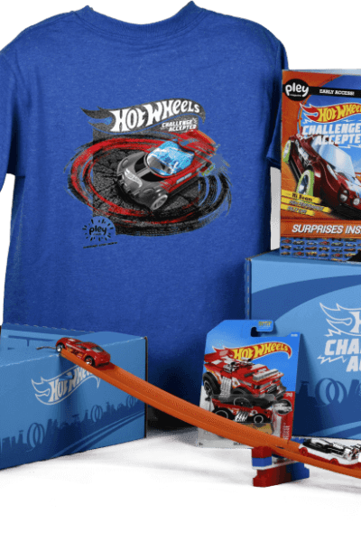 "Summer will be here before you know it. With that include the cries of ""I'm bored""! This summer I am getting prepared early for Summer Fun for Kids by stocking up on craft supplies, and our newest boredom buster, the Hot Wheels PleyBox."